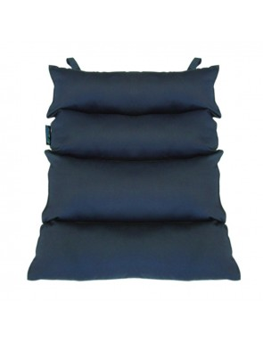 Cuscino dorsale in fibra cava siliconata