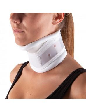 Collare cervicale rigido regolabile in altezza con appoggio per mento