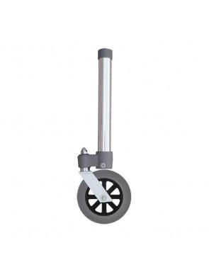 Gambe con ruote piroettanti per deambulatore diametro 5 pollici