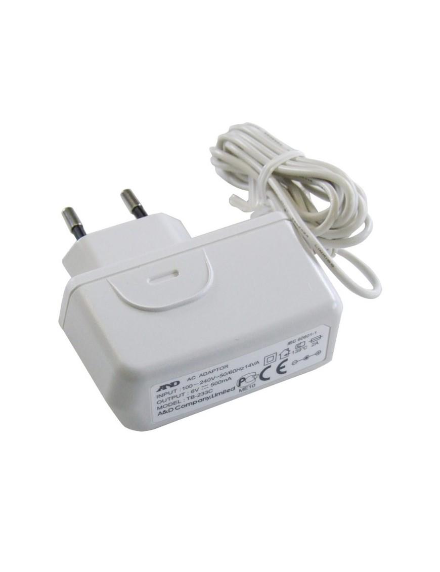 Alimentatore a rete elettrica per tutti i misuratori A&D automatici a bracciale