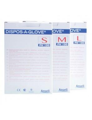 Guanti non sterili in copolimero su carta