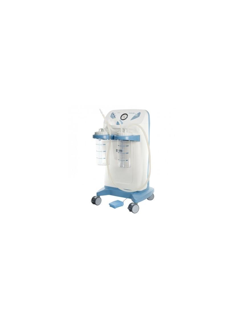 Vaso da 1000 cc con coperchio per aspiratori INTERMED