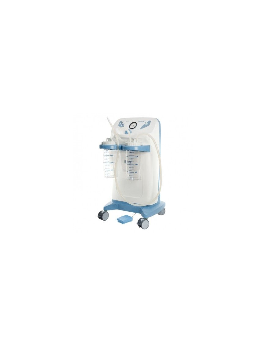 Vaso da 2.000 cc con coperchio per aspiratori INTERMED