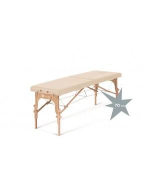 Lettino in legno pieghevole...