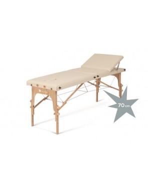Lettino pieghevole in legno...