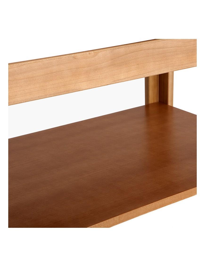 Ripiano portaoggetti per letti in legno