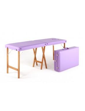 Lettino in legno portatile...